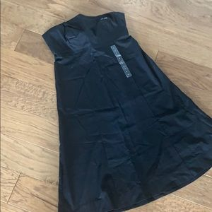 GAP black strapless stretchy dress NWT